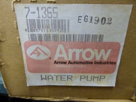7-1365 GM Water Pump, Remanufactured By Arrow Eagle 1988-90, Jeep 87-94 image 2