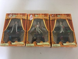 SET OF 3 NSYNC ON TOUR 2000 COLLECTOR'S EDITION MARIONETTES IOP  #1954 - $18.37
