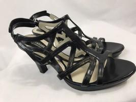 Naturalizer N5 Comfort Black Platform Sandals, Women's Size 10M, New - $56.99