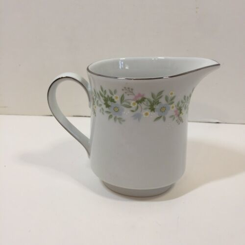 "Primary image for Creamer 4"" tall Forever Spring Johann Haviland Barvaria Germany"