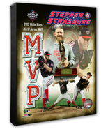 Stephen Strasburg Nationals 2019 World Series MVP- 16x20 Photo-Stretched... - $89.99