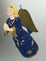 Dept 56 Star Of Wonder Celestial Blonde Angel Christmas Ornament Handpainted - $18.80
