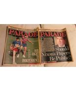 Vintage Parade Newspaper Magazine Lot of 2 November 23 & 30 1986 Richard... - $9.89