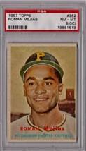 1957 Topps Roman Mejias #362 PSA 8 (OC) P340 - $15.44