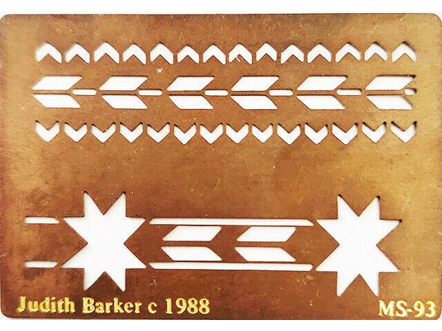 Judith Barker Metal Embossing Plate, Quilt #MS-93