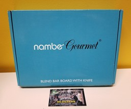 NAMBÉ Gourmet Blend Bar with Knife #MT0648.  New in box.  Ships Free. - ₨2,925.42 INR