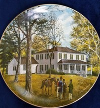Liberty Hall Collectors Plate Crawfordsville Georgia Fine China Numbered - $29.70