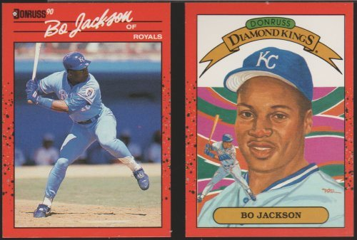 Bo Jackson 2 Cards Reg Card 61 Diamond King And 50 Similar