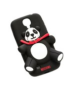 Moschino Teddy Bear B7708 Phone Case For Samsung Galaxy S4 Black - $73.44