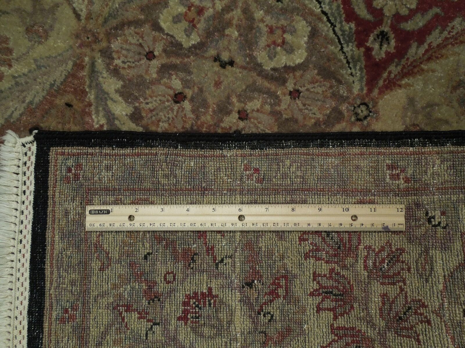 5x7 Multi-Color Oushak Wool Handmade Checked All-Over Transitional Area Rug image 8