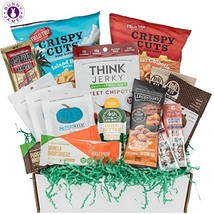 Low Carb KETO Snacks Box: Low Sugar High Fat Ketogenic Diet Snacks, Cook... - $59.82
