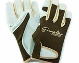 Leather Gardening Gloves for Women and Men. Adjustable Fastener and X-Small