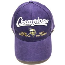 Minnesota Vikings 2000 Central Division Champs NFL Adjustable Snapback Hat  - $24.95
