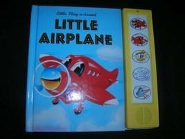 Little Flugzeug (Little Play A Sound) Neu W / Austauschbare Lange Lebens... - $118.84
