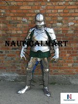 NauticalMart Renaissance Armor Medieval Larp Knight Wearable Full Suit Of Armor - $999.00