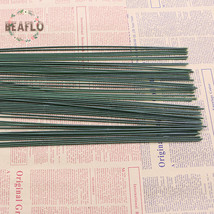 BEAFLO 100PCs DIY Artificial Flower Rod Wire Wedding - $30.95