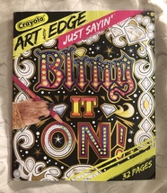 Crayola Art with Edge Coloring Book, Quote Coloring Pages 32 Pages - $10.95