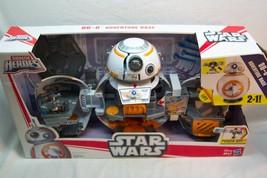 Hasbro Star Wars GALACTIC HEROES BB-8 ADVENTURE BASE TOY SET w/ LIGHTS S... - $49.50