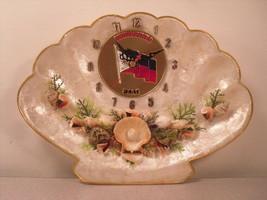 Decorative Phillippines faux-shell quartz wall clock - $12.46