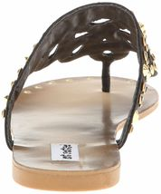 Not Rated Make it Rain Studded Crystals Summer Thong Sandals Beach Slippers NIB image 4