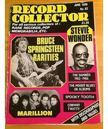 Record Collector Magazine June 1986 No. 82 Bruce Springsteen Stevie Wond... - $11.85