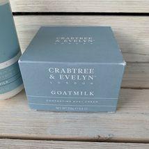 Crabtree & Evelyn GOATMILK & OAT SOOTHING BODY CREAM & SHOWER MILK 8.8 oz NIB image 4