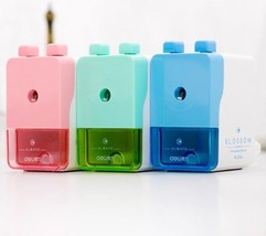 School Supplies Pencil Sharpener Stationery Creative Cute Design For Off... - $14.83