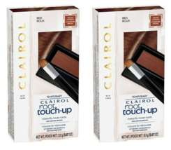 2-PK Clairol Temporary Root Touch-up Red Conceal Powder Brows SAME-DAY Ship - $10.87