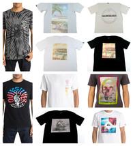 Quiksilver Men's Tee Shirt Surfing Casual Beach T-Shirt Short Sleeve NEW