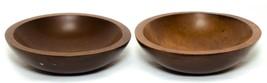 Baribocraft Canada Wooden Bowls Pair of Vintage - $7.43