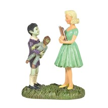 Eddie & Marilyn Munster Figurine The Munsters TV Show Dept 56 Village 60... - $33.95