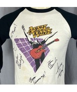 1982 April Wine Power Play World Tour Autographed By Full Band Medium T-... - $197.99