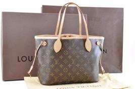LOUIS VUITTON Monogram Neverfull PM Tote Bag M40155 LV Auth sa707 - $1,280.00