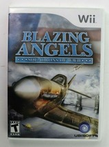Blazing Angels Squadrons of WWII (Nintendo Wii, 2007) Complete EUC Tested - $7.95