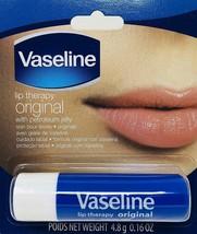 6 Vaseline Lip Therapy Original Lips Lip Balm / Petroleum Jelly for Providing - $10.49