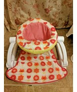 Fisher Price Sit Me Up Floor Seat Floral REPLACEMENT COVER ONLY - $24.19