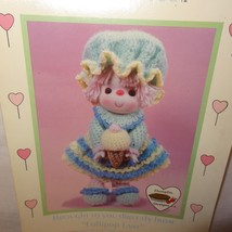 Sherbet Ice Doll Pattern Lollipop Lane Dumplin Designs Crochet 1984 CDC402 - $9.99