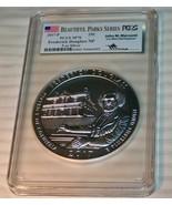 2017 P Frederick Douglas NP PCGS 70 FIRST STRIKE 5 OZ Silver John M. Mer... - $627.63