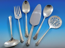 Damask Rose by Oneida Sterling Silver Essential Serving Set Large 6-piece - $295.00