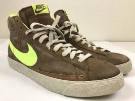 Nike Blazer Premium Major Taylor High Tops 312457-371 Men's Shoe Size 11.5 - £38.16 GBP