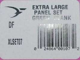 Destron Fearing DuFlex Visual Livestock Id Panel Tags Green Blank XL 25 Sets image 7