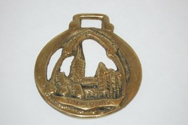 Antique SALISBURY CATHEDRAL Horse  Brass from UK - $24.01