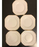 "Gladstone Bone China ""butter Plater Made In England Dinner plates (set o... - $49.50"