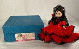 "Madame Alexander Doll Spain 8"" Comes With Original Box #595 - $24.60"