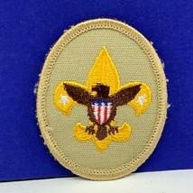 Boy scouts merit patch badge vintage cub den vtg arm emblem memorabilia eagle us - $11.60