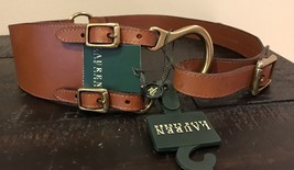 Ralph Lauren Leather Belt Sz M - $44.00