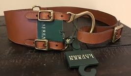 Ralph Lauren Leather Belt Sz M - $44.00