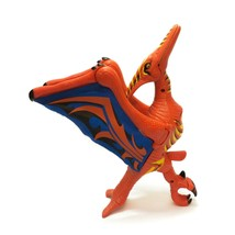 Imaginext Pterodactyl Dinosaur Mattel 2006 Red & Blue - $24.72