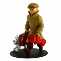 TINTIN AND SNOWY ILS ARRIVENT HOMECOMING RESIN STATUE image 1