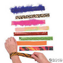 Slap Bracelet Assortment - 100 pcs. - $51.85